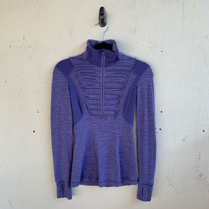 Lululemon Purple Run Your Heart Out Pullover